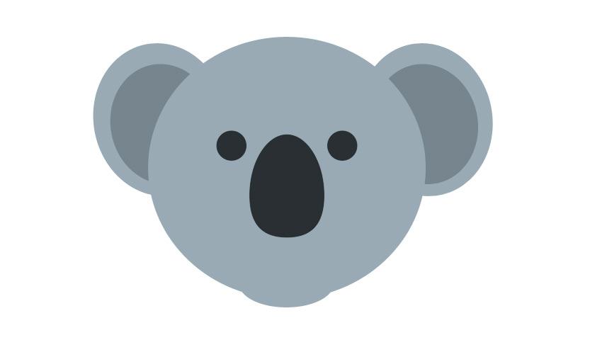 Placeholder koala image