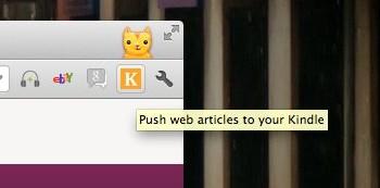 Chrome to Kindle