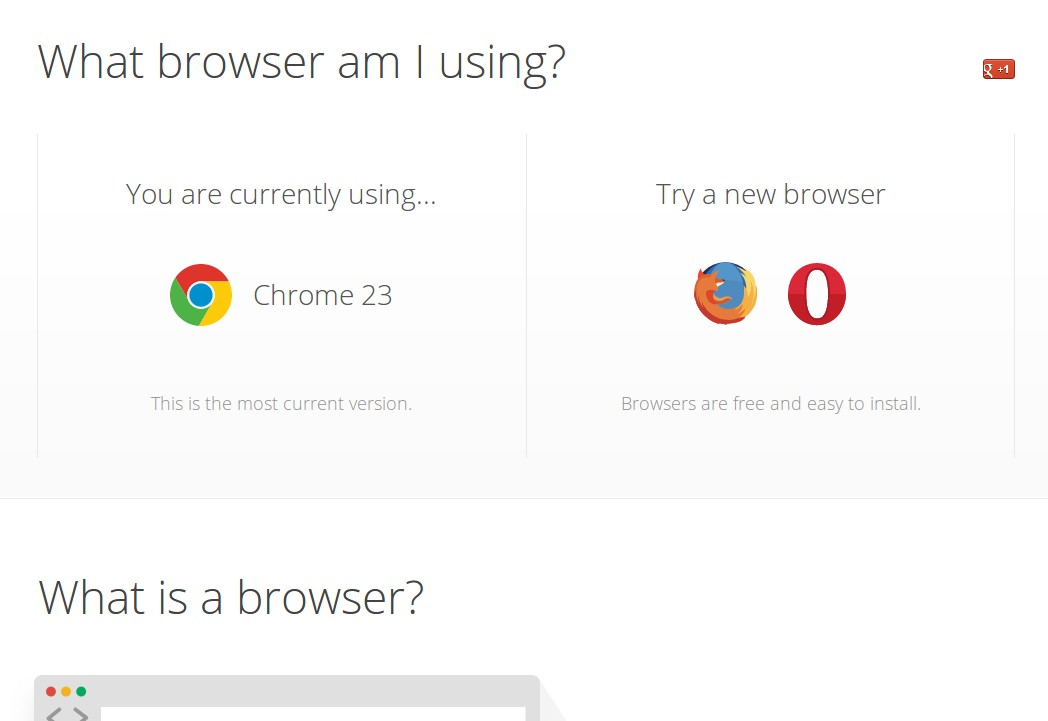 What Browser?