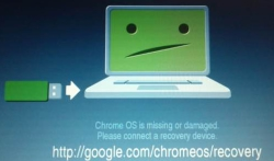Chrome OS cant boot, requires recovery.