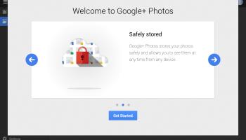Google+ Photos - intro screen 2