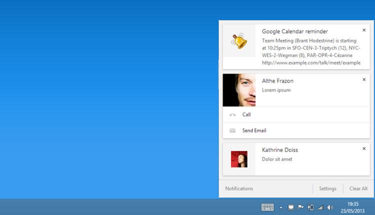 New Chrome Message Center Lands in Chrome Beta for Windows