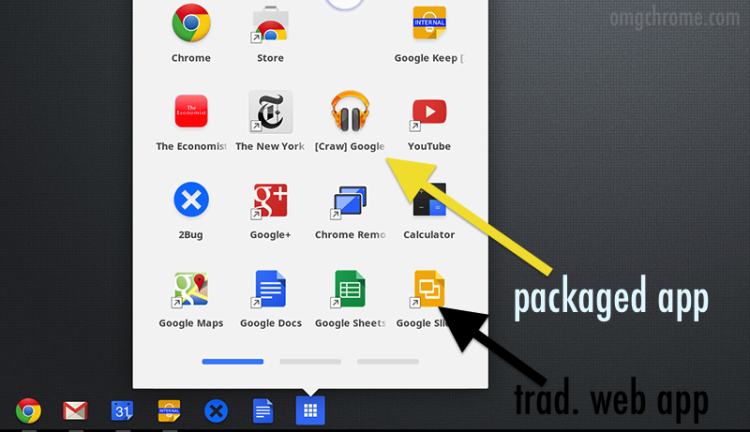 Does this internal developer screenshot show a packaged Play Music app?