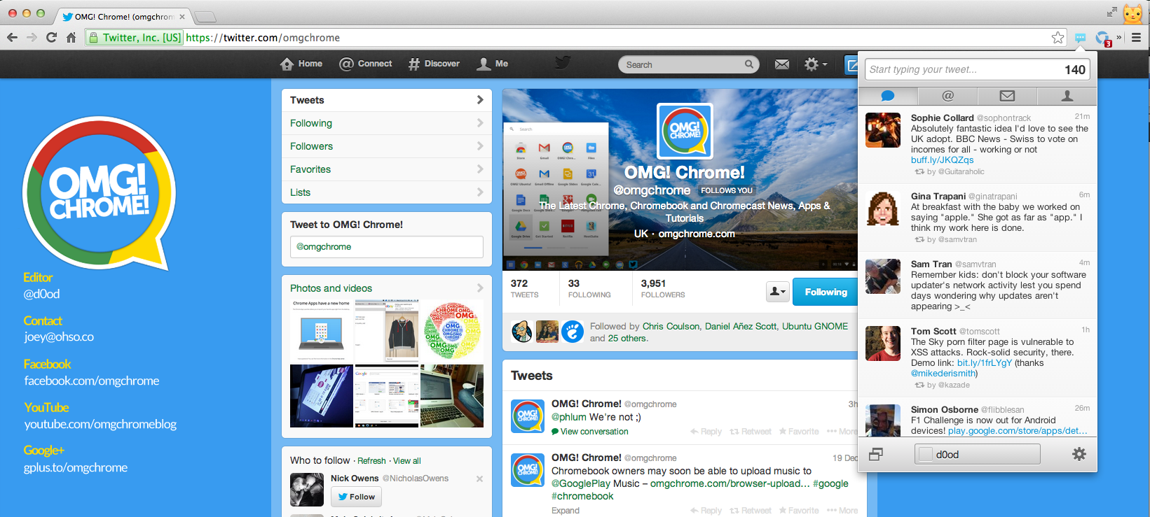 Twitter Notifier - The Best Chrome Extension For Twitter