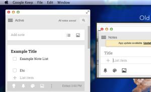 Google Keep Toolbar changes