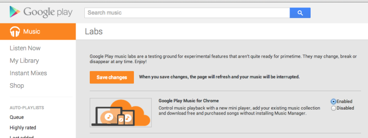 Google Music Finally Enables Browser Uploads through Chrome