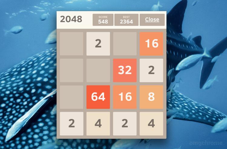 2048 packaged app for google chrome