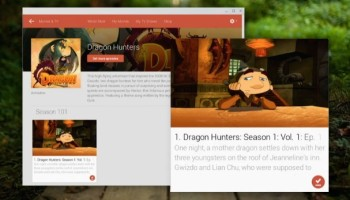 Movies App Chrome OS