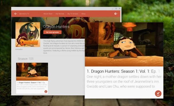 Movies App Chrome OS