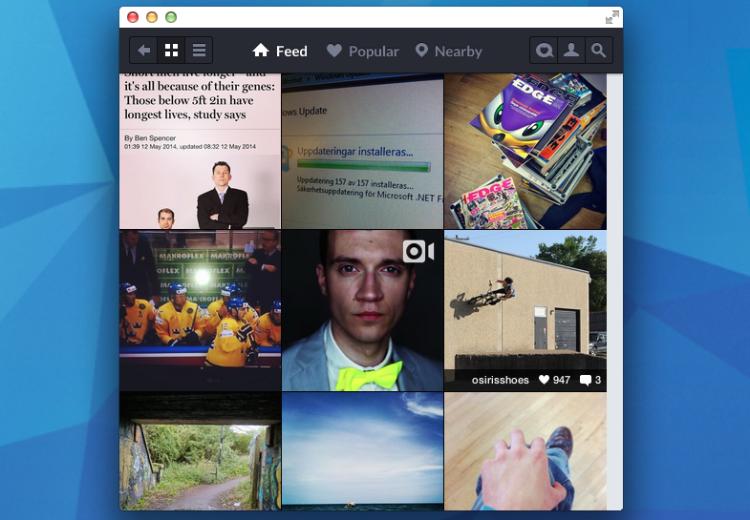 instagram chrome app