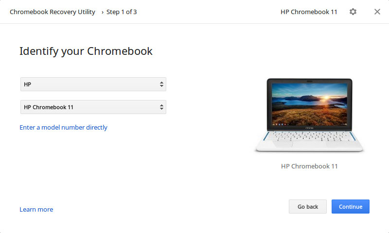 Hands On With The New Chrome OS Recovery Tool
