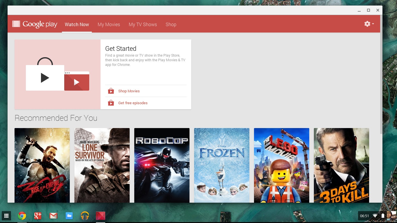 Google Play Movies for Chrome Lets You View Shows Offline