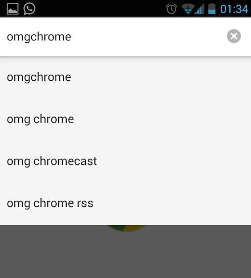 Full width searching