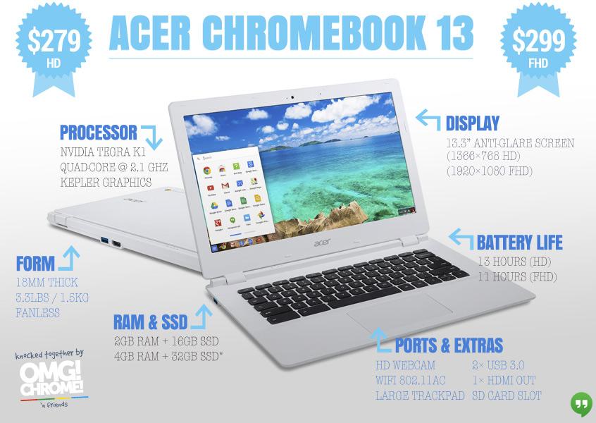 acer chromebook 13-inch