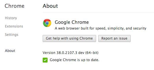 chrome mac 64 bit dev channel