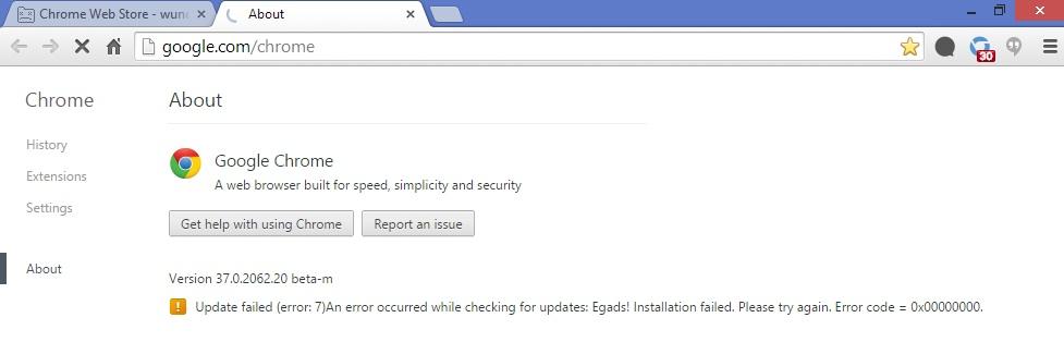 Windows 7 updates fehlgeschlagen