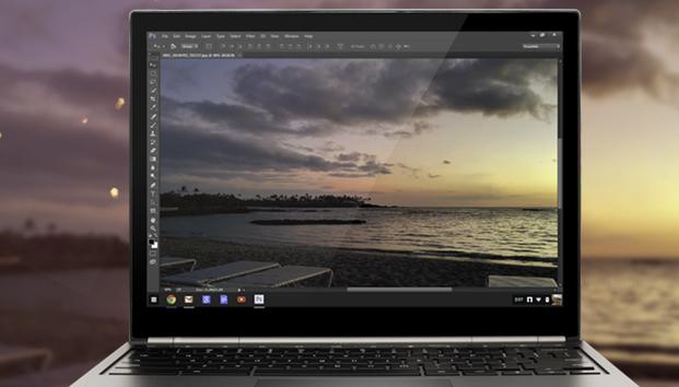 Photoshop on a Chromebook