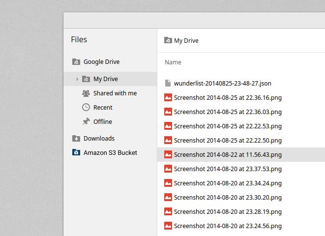 Chrome OS File System API Providers