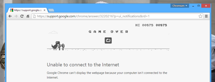 endless runner easter egg in chrome
