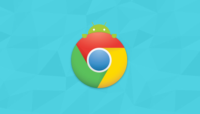 chrome for android illustration