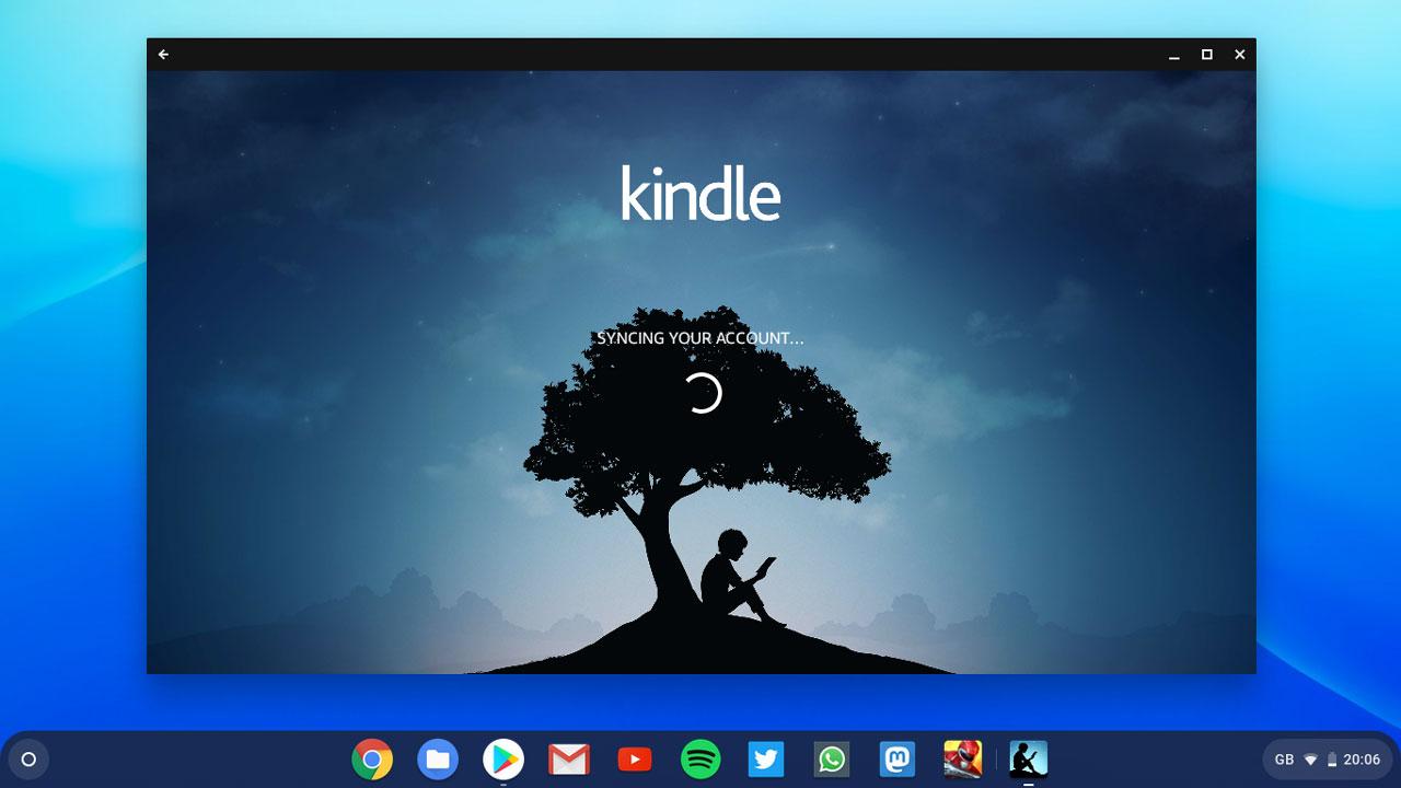 Kindle on a Chromebook