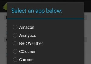 chrome apk packager list