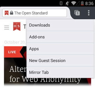 firefox tab mirror option