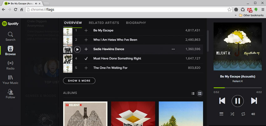 How to Control the Spotify Web Player with Keyboard Hotkeys