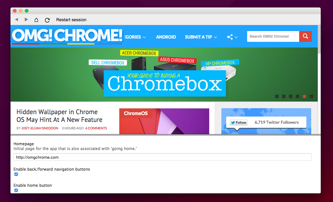 Chrome App Builder