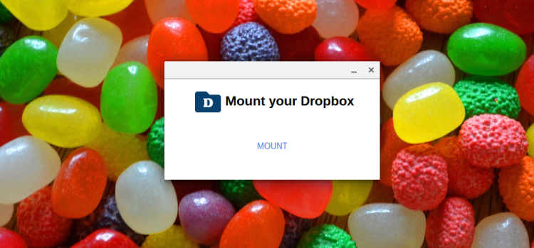 dropbox file system app for Chromebook