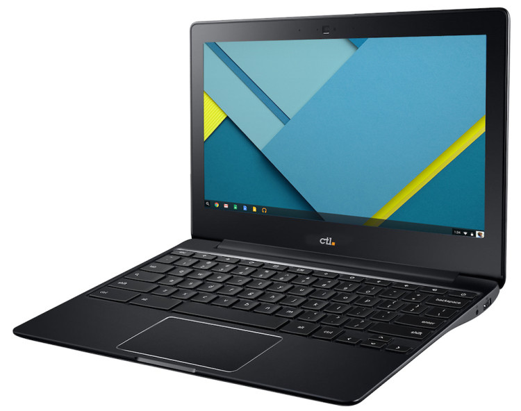 CTL Chromebook for Education Front Side Left
