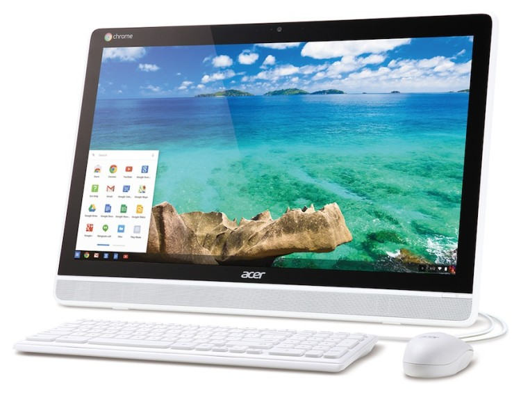 acer chromebase press photo