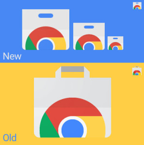 new chrome web store icon