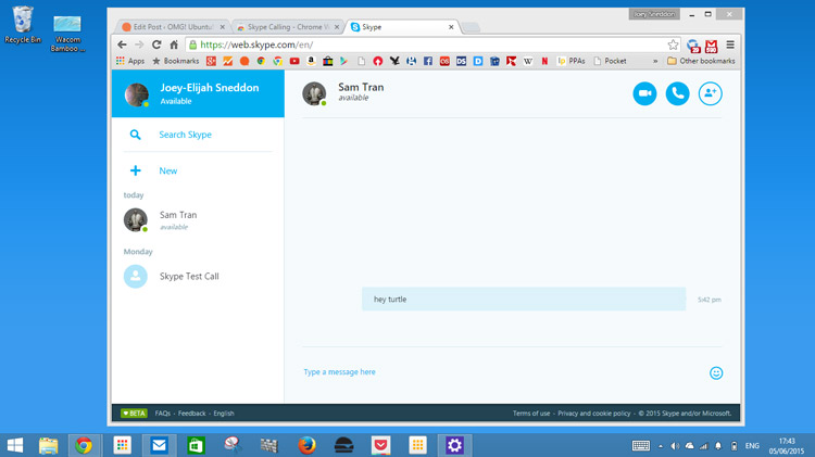 How to Use Skype for Web in Google Chrome | OMG! Chrome!