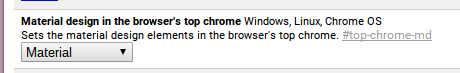 chrome dev flag screenshot