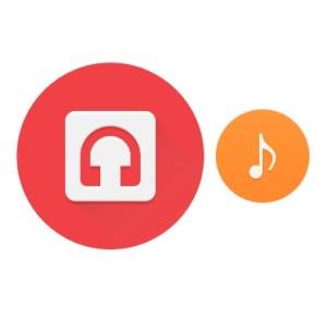 chrome os audio player app icons