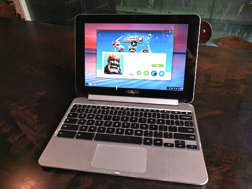 Google Play Store Arrives on the ASUS Chromebook Flip | OMG
