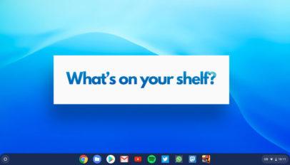 Chromebook App Shelf