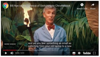 Chromebook Bill Nye