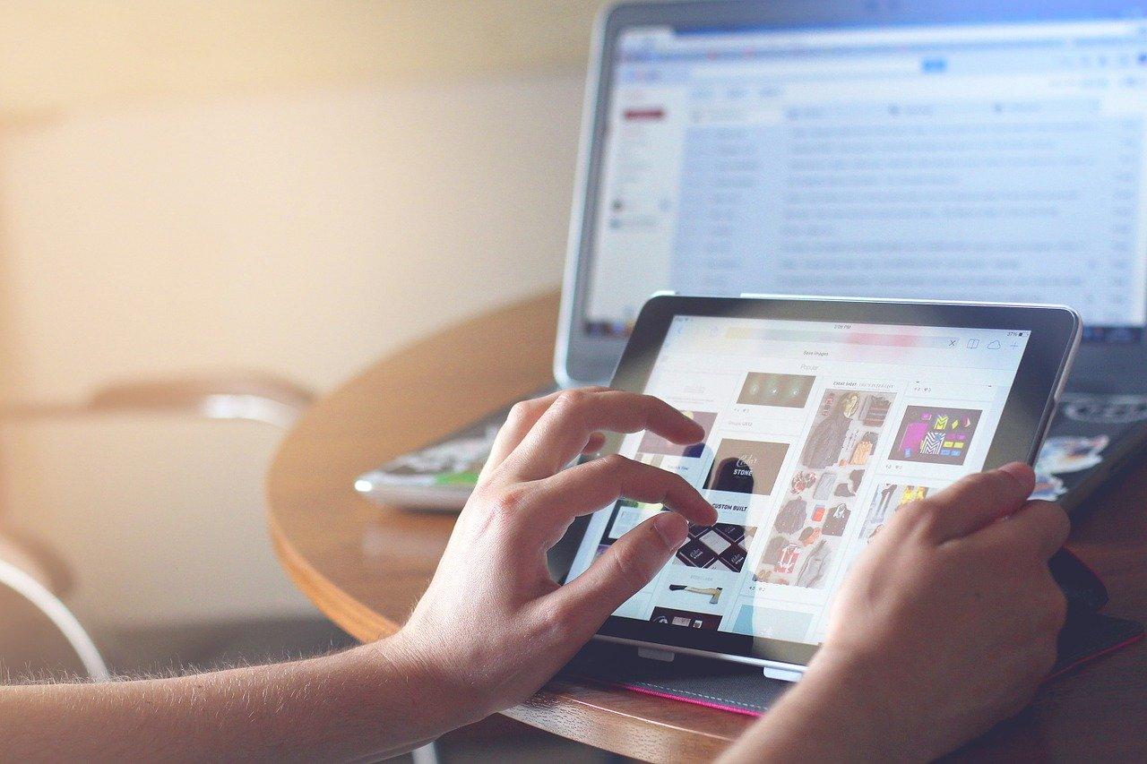 iPad web browser